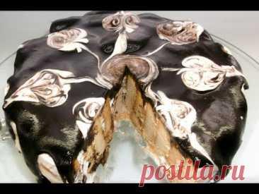 La torta Sin Cocción de las Galletas. La Torta jugosa, Suave, Sabrosa Sin Cocción.