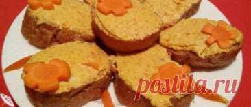 Рецепт икры из селедки и моркови с плавленым сыром