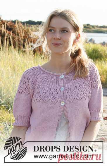 Жакет Now and Forever - блог экспертов интернет-магазина пряжи 5motkov.ru