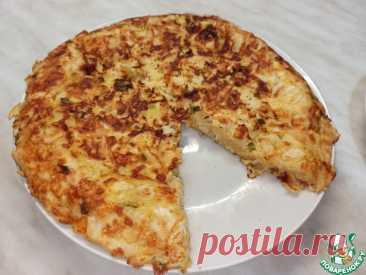 Пирог из лаваша с мясом на сковороде Кулинарный рецепт