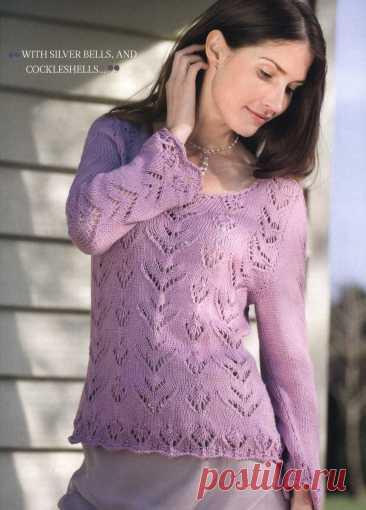 Подобрала летние, романтичные модели джемперов.   Asha. Вязание и дизайн.🌶   Яндекс Дзен