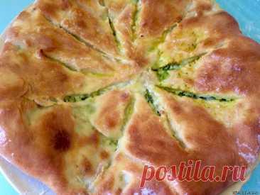 Осетинский пирог с сыром и зеленью - как приготовить, рецепт с фото — Кулинарный блог Life Good