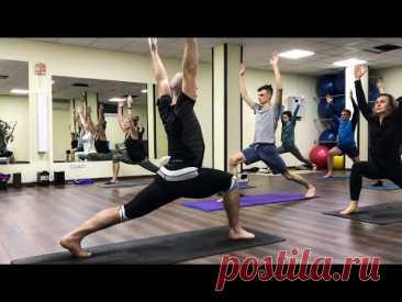 МФР (миофасциальный релиз) и йога с Сергеем Черновым 🕝 2021.03.03