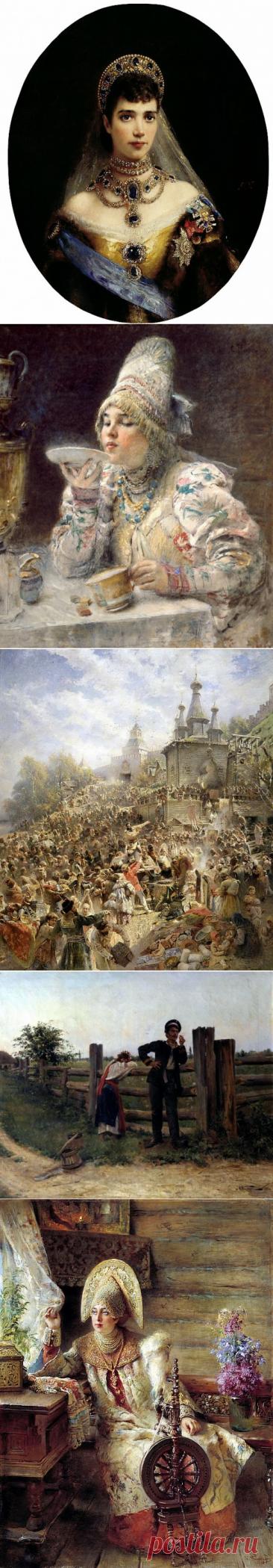 О жизни и творчестве художника Константина Егоровича Маковского