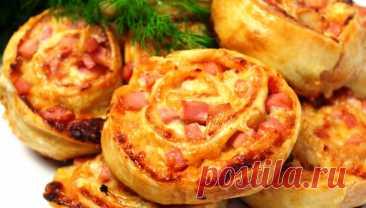 Булочки мини-пицца на скорую руку. Когда хочется чего то вкусненького | Кулинарушка - Вкусные Рецепты