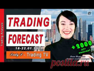 ✔️Weekly Market Commentary. Technical analysis and trading forecast
