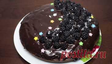 Готовим в мультиварке: простой и очень вкусный шоколадный пирог