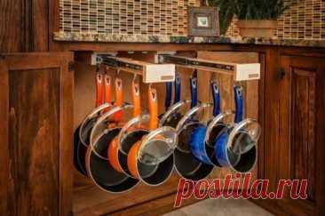 Купить Pack Glideware Pullout Organizer Rack w 12 Hooks Pots Cookware more (Другое Кухонное Хранилище) заказать с доставкой лот № 303411072446