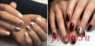 2021 Идеи маникюра на новый год 2020 Новогоднее настроение легко создается с помощью дизайна ногтей в новогодней стилистике.