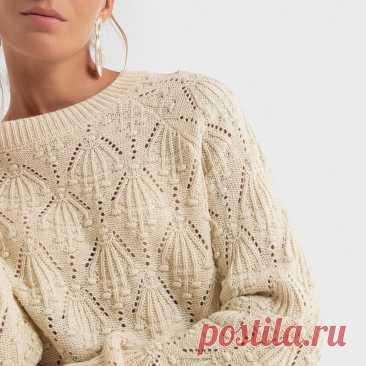 Четыре вещи на основе одного узора. Пуловеры и кардиган, а также схема вязания   Вяжем вместе!   Яндекс Дзен