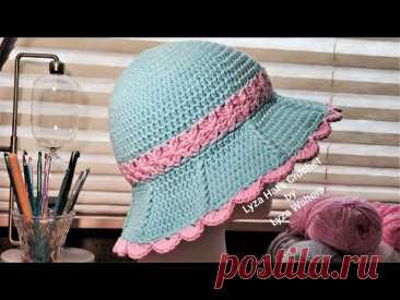 Crochet Summer Girl Hat Part 1