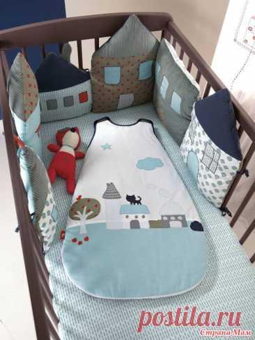Спальники и бортики в кроватку из каталога Vertbaudet - Приданое для малыша своими руками - Страна Мам