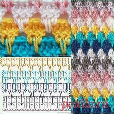 Вязание плотных узоров (81 фото и схемы): описание как сделать красивые плотные узоры