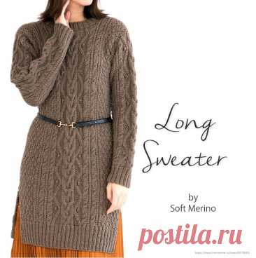 Long Sweater by Soft Merino