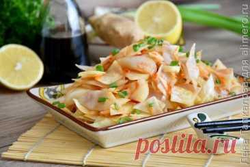 Вкусный рецепт Кимчи из белокочанной капусты, пошаговый, с фото и отзывами.