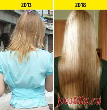 Я 5 лет пыталась восстановить волосы, пока наконец не научилась делать это правильно   Всегда в форме!