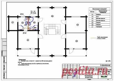 Проект отопления частного дома, пример 1471