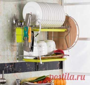 Способы почистить сушилку для посуды от известкового налета и ржавчины: