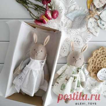 Купить игрушка зайчик ручной работы у мастера без наценок | DIY Рукоделие - Игрушки, куклы