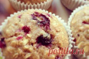 Постные овсяные маффины с красной смородиной рецепт – европейская кухня, веганская еда: выпечка и десерты. «Еда»