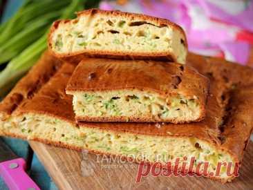 Заливной луковый пирог — рецепт с фото Самый вкусный заливной луковый пирог из тех, которые мне довелось пробовать. Рекомендую всем!
