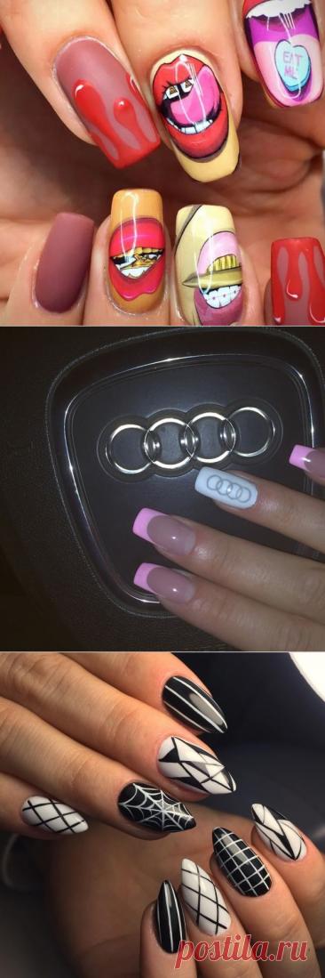 Дизайн ногтей - Маникюр дерзкий, любой каприз, любой эскиз. Девушки выбирают дерзкий маникюр, либо наскучила классика, либо хочется привнести в свою жизнь больше цвета, свободы и характера. Студия Vivi Nails
