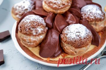 Я знаю, чем удивить гостей в Новый год. Буду делать десерт Сент-Оноре с шоколадным кремом | ChocoYamma | Яндекс Дзен