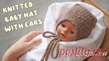 Детские шапочки, шарфики и береты спицами или крючком с описанием - Результаты из #10