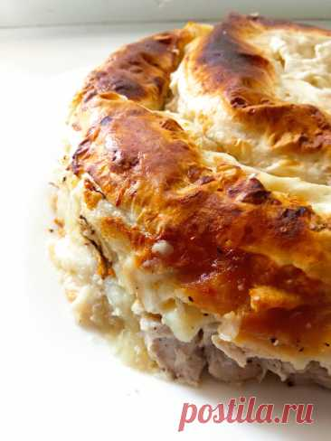 Всей семьей подсели на этот мясной пирог. Приготовила, съели и снова готовлю. | ЛЮБЛЮ ГОТОВИТЬ | Яндекс Дзен