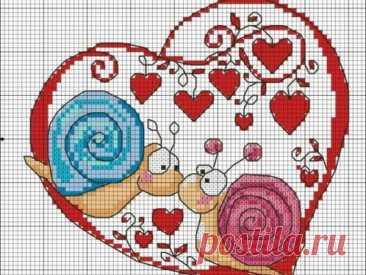 Схемы вышивки крестом ко дню влюбленных ~ Свое рукоделие Схемы вышивки крестом по теме ко Дню Влюбленных помогут вам создать оригинальные подарки своим любимым собственными руками.