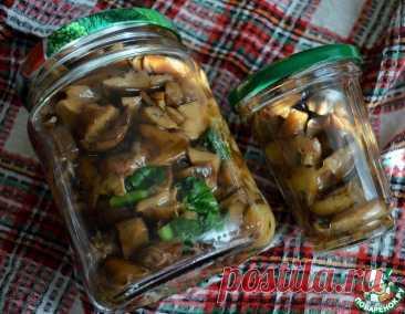 Солёные грибы – кулинарный рецепт