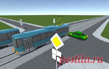 Типичное ДТП: кто из водителей обязан был уступить дорогу в данной ситуации? | Помощник автомобилиста | Пульс Mail.ru