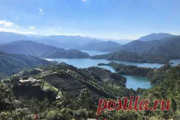 Цяньдаоху - Озеро тысячи островов и парк Каменный лесной пейзаж