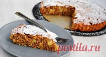 Пирог из яблок и овсянки. Вкусный и полезный пирог - На Кухне