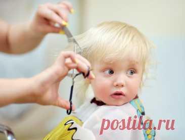Первая стрижка ребенка в парикмахерской - как избежать истерик » Женский Мир