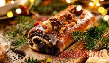 Традиционная рождественская выпечка