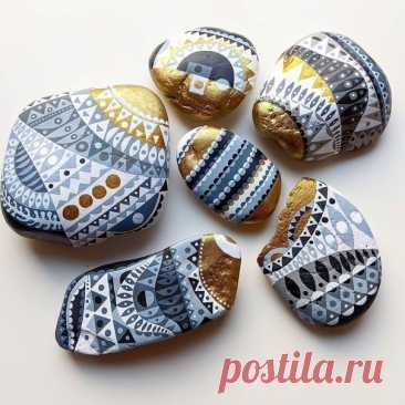 Расписные камни от minahpaulines_steine