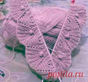 Кайма - красивое завершение вязаного изделия | Сундучок с подарками | Яндекс Дзен