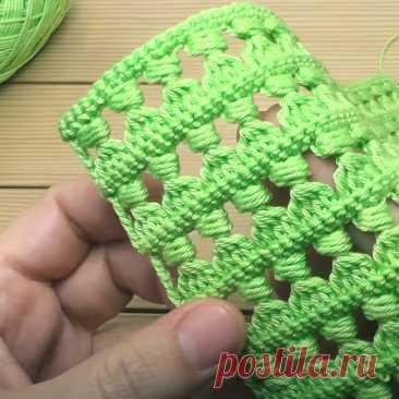 Как связать красивый ажурный узор крючком