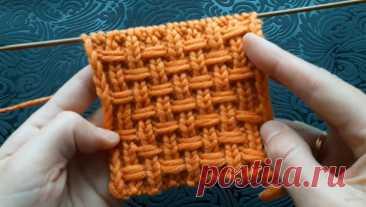 Шикарный плетеный узор спицами (Вязание спицами) – Журнал Вдохновение Рукодельницы
