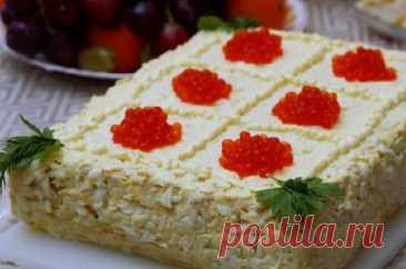 Закусочный торт «Наполеон» — Кулинарная страничка