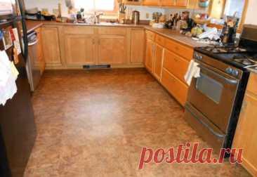 Делаем ремонт пола в кухне: какой напольный материал подобрать?