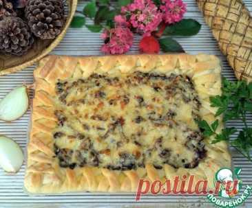 Пирог с жюльеном – кулинарный рецепт