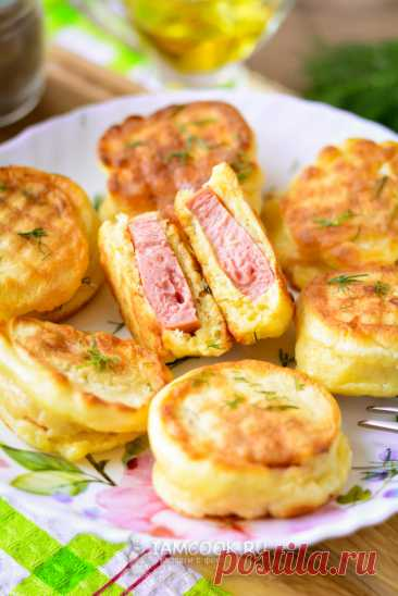 Сардельки в кляре на сковороде — рецепт с фото пошагово