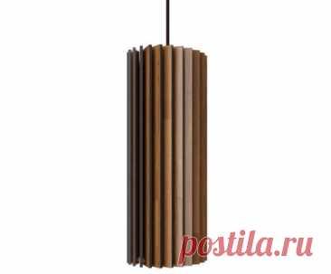 """Подвесной светильник """"Ротор"""" от Woodled бежевый, дерево - купить в интернет-магазине WestwingShop"""