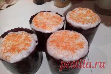 Панеттоне (итальянский пасхальный кулич), пошаговый рецепт с фотографиями – итальянская кухня: выпечка и десерты. «Еда»