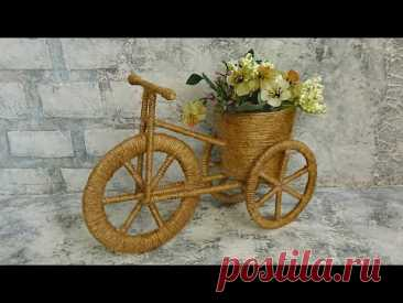 Декоративный велосипед. Поделка своими руками
