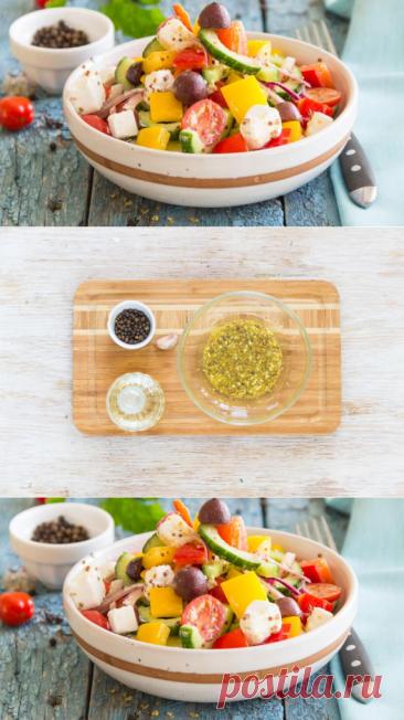Диетические блюда на Карантине. Салат греческий классический, пошаговый рецепт с фото