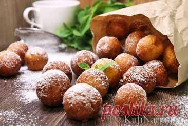 Творожные пончики рецепт с фото пошагово - Кулинарния