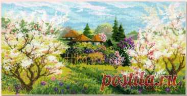 Яблоневый сад арт.1275 Риолис купить в Stitch и Крестик